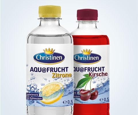 Christinen AQU@FRUCHT Zitrone und Kirsche