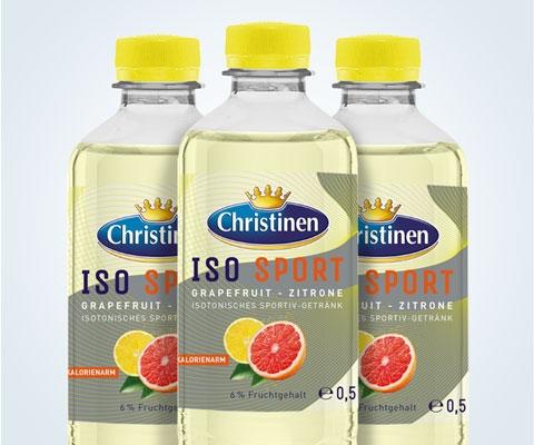 Christinen Iso Sport Grapefruit-Zitrone