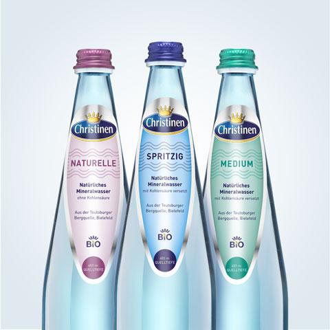 Christinen Premiummineralwasser in Bio-Qualität
