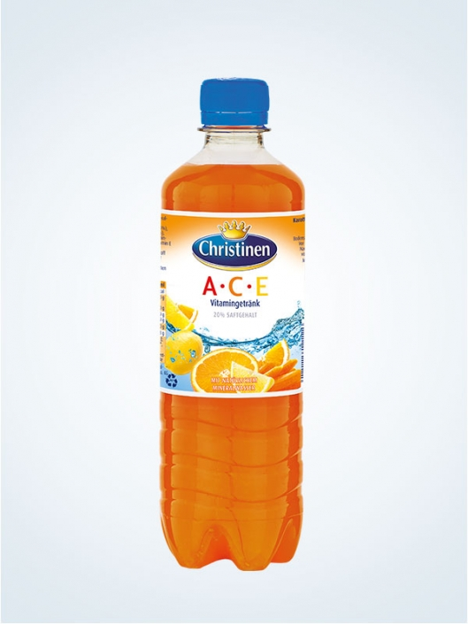 Christinen ACE, 0,5l PET, Einweg