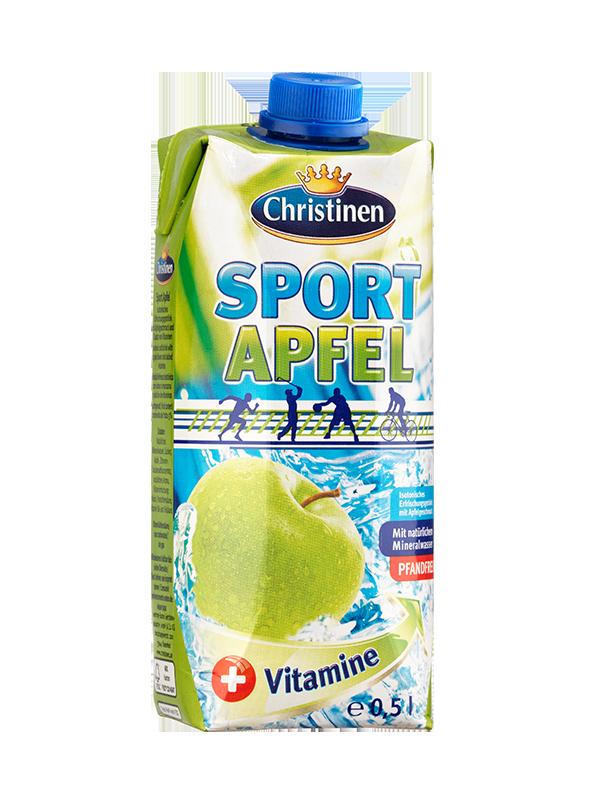 Christinen Sport Apfel, 0,5l Tetra Prisma