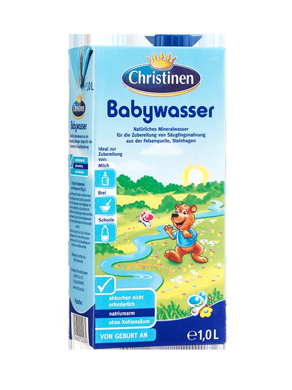 Babywasser Mineralwasser Tetra Pak