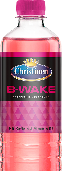 Christinen B-Wake Grapefruit-Kardamon, 0,5l PET, Einweg