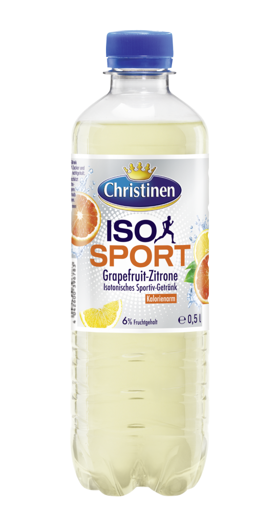 Christinen Iso Sport 0,5 l PET Cycle